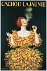VINTAGE GICLEE ART PRINT - Cachou Lajaunie by Leonetto Cappiello Tobacco Poster
