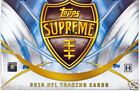 2014 Topps Supreme Football Hobby Box Factory Sealed