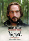 Sleepy Hollow Season 1 Autograph Card TM Tom Mison as Ichabod Crane