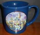 Disneyland 50 Years Souvenir Coffee Mug / Cup with Embossed Mouse Ears Logo