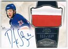2010-11 DOMINION ROOKIE PATCH AUTOGRAPH RPA #242 DEREK STEPAN 34 99 !!