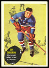 1961-62 Topps Hockey Cards 16