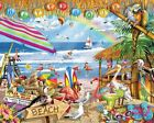 White Mountain Puzzles Happy Hour Puzzle - 1000 Piece Jigsaw Puzzle New