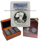 1986-2014 $1 1oz Silver Eagle Proofs PCGS PR70 DCAM Deep Cameo COMPLETE DATE SET