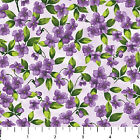 Hamilton Grove Northcott Quilt Fabric by the 1 2 yard Purple Floral 4652 79
