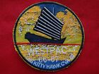 Vietnam War Patch WESTPAC 66-67 US Navy Aircraft Carrier USS KITTY HAWK CVA-63