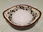 Vintage NORITAKE Japanese Hand-Painted Porcelain Handled DECORATIVE DISPLAY BOWL