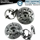 Front Wheel Hub  Bearing Pair Set for GMC Chevy Truck 2WD