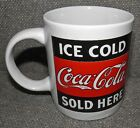 Ice Cold Coca-Cola Sold Here Coffee Mug / Cup Gibson 2003