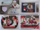 Lot x16 High End Detroit Red Wings Yzerman Fedorov Howe patch auto RC ++
