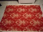 WAVERLY COUNTRY HOUSE TOILE GARNET RED FABRIC - 2 YARD PIECE