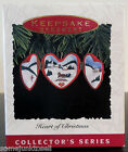 Hallmark Keepsake ~ 1993 Heart Of Christmas ~ Ornament New In Box QX4482