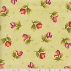 Maywood Studio Catalina 8405 G Flowers on Green by the yard