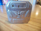 GEM TIN DIME REGISTER COIN BANK US PATENT PENDING No key needed