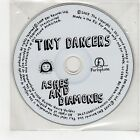(FU639) Tiny Dancers, Ashes & Diamonds - 2007 DJ CD