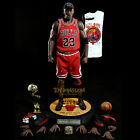 MICHAEL JORDAN - The Last Shot - Enterbay Real Masterpiece NBA 1:6 Bulls Figure