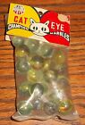Vintage Original Unopened Cat Eye Champion Marbles 1950's