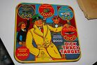 VINTAGE MARX 1941 TIN DICK TRACY DOUBLE TARGET GAME BOARD IN BOX