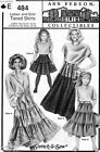 Sewing PATTERN Ladies Girls Tiered Skirts Ann Person Collectibles  Hip 22-48