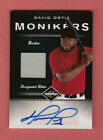DAVID ORTIZ 2011 LEAF LIMITED MONIKERS AUTOGRAPH AUTO JERSEY # 10 RED SOX