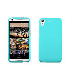 For htc Desire 626 626S 530 TEAL BLUE 2 PC SNAP ON HARD SKIN COVER CASE