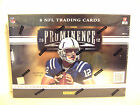 2012 Prominence Football Box Panini HOBBY Factory Sealed 3 Auto Mem FREE SHIP