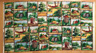 A HOME AWAY FROM HOME CAMPER SWEET CAMPER SAMPLER COTTON QUILTING FABRIC PANEL