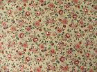 Petite Floral Print FABRIC Design by Joan Kessler Concord Fabrics Pink Flowers