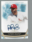 ALBERT PUJOLS 2011 Topps Tier One cert AUTOGRAPH on card auto #16 99