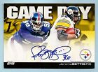 JEROME BETTIS 2011 TOPPS GAME DAY SIGNATURE AUTOGRAPH AUTO STEELERS