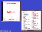 KZZU the Zoo 93 FM Spokane Washington 1987 Various Artists CD RARE 80s Wa Wa Nee