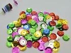 2000 Mixed Color 10mm CUP round loose sequins Paillettes sewing