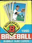 1990 Bowman Baseball 3-BOX LOT  Bernie Williams Sammy Sosa RC ???