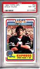 Steve Young San Francisco SF 49ers 1984 Topps USFL #52 Rookie Card rC PSA 8