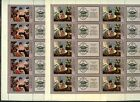 USSR, Russian stamp Full sheet Sc4642-43 Russian paintings  2-15 + i stamp MNH