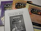 LATIN FOR CHILDREN 4 PIECE TEXTBOOK BUNDLE PRIMER A AND B AND ANSWER KEY