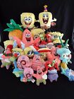 Spongebob Square Pants Buddy Beanie Keychain x22 NWHT Tag tush plush NM/MT Cond