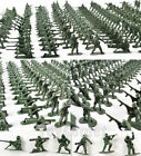 160 pcs Military Plastic Toy Soldiers Green 4.5cm Figures Army Men 6 Poses