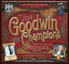 (2) 2014 UPPER DECK GOODWIN CHAMPIONS SEALED HOBBY BOX LOT auto mini sp goudey