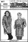 Sewing PATTERNMisses Fringed Blanket Jackets Ann Person Collectibles 4055