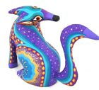 OAXACAN wood carving COYOTE by MARGARITA SOSA - OAXACA - Alebrije