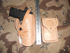 Colt Springfield 1911 Suede Lined Holster Wild Bunch Field Holster