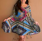 PLUS SIZE BLACK PINK MULTI BABYDOLL 3 4 SLEEVE FULL SKIRT MINI DRESS 1X 2X 3X
