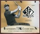 2014 UPPER DECK SP AUTHENTIC GOLF SEALED HOBBY BOX auto tiger woods rory mcIlroy