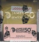 James Bond 50th Anniversary Series One - Factory Sealed Archive Box - A and B