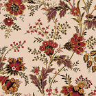 Jo Morton Savannah Brown  Large  Floral Cotton Quilt Reproduction Fabric BFab JM