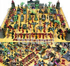 146 pcs Military Toy Soldiers Army Men 5cm Figures & Accessories Playset