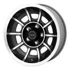 American Racing VN47 Vector 15x85 5x1207 +6mm Black Machined Wheel Rim