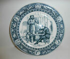 Wedgwood Friar Tuck Entertains The Black Knight Robin Hood Blue Dinner Plate 10