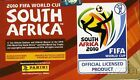 Panini 2010 World Cup MASSIVE Factory Sealed 100 Pack Sticker Box-500 STICKERS !